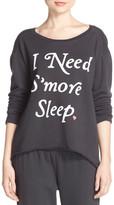 Junk Food Clothing 'I Need S'more Sleep' Sweatshirt