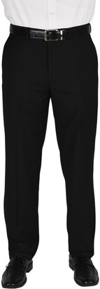 """Dockers Flat Front Performance Stretch Straight Fit Dress Pants - 30-34"""" Inseam"""