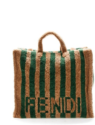 Fendi Logo Tote Bag