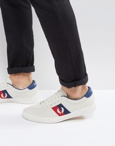Fred Perry B1 Sports Authentic Tennis Suede Sneakers Off White