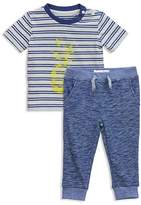 Sovereign Code Boys' Striped Pineapple Tee & Joggers Set - Baby