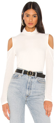 Michael Lauren Abner Long Sleeve Top