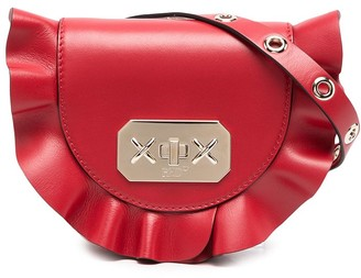 Red(V) Ruffled Trim Belt Bag