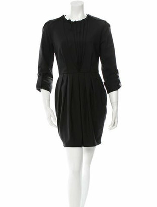 Francesco Scognamiglio Dress w/ Tags Black