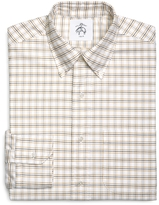 Brooks Brothers Tattersall Oxford Button-Down Shirt
