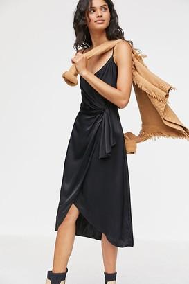 Anthropologie Cordelia Maxi Wrap Dress