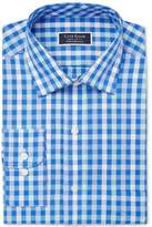 Club Room Men's Classic/Regular Fit Performance Multi Gingham Dress Shirt, Created for Macy's