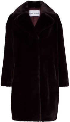 Stand Studio Camille Teddy faux-fur coat