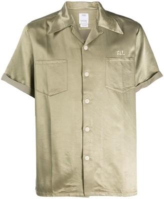 Visvim Logo Print Short-Sleeve Shirt