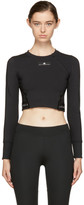 adidas by Stella McCartney Black Climachill Training T-Shirt