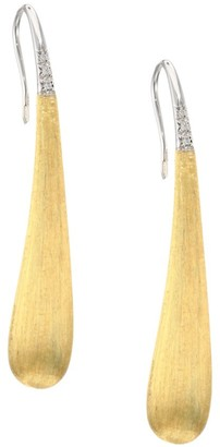 Marco Bicego Lucia Legami 18K Yellow Gold & Diamond Drop Earrings