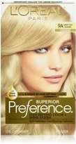L'Oreal Preference Haircolor, Light Ash Blonde 9A 1 ea