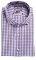 Black Brown 1826 Checkered Dress Shirt