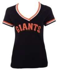 5th & Ocean Women's San Francisco Giants Contrast Binding T-Shirt