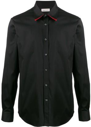Alexander McQueen double collar shirt