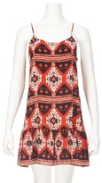 Eight Sixty Kings Road Drop Waist Printed Dress