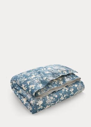 Ralph Lauren Indigo Cottage Comforter
