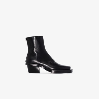 Alyx black Leone leather ankle boots