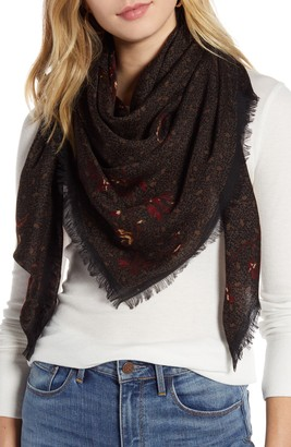Treasure & Bond Print Wool Scarf