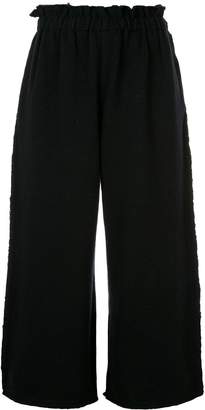 Comme des Garcons Pre-Owned baggy knitted trousers