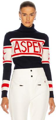 Perfect Moment Schild Aspen Sweater in Navy | FWRD