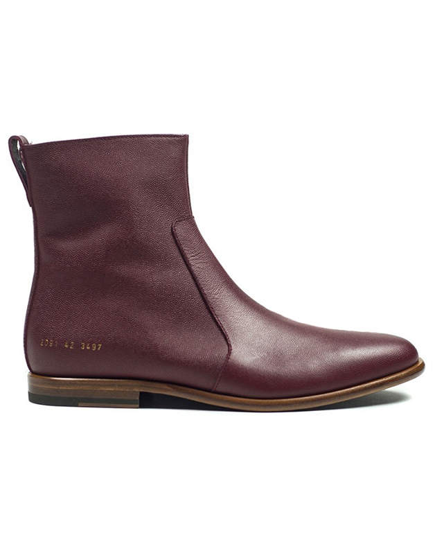 Robert Geller x Common Projects Leather Chelsea Boot
