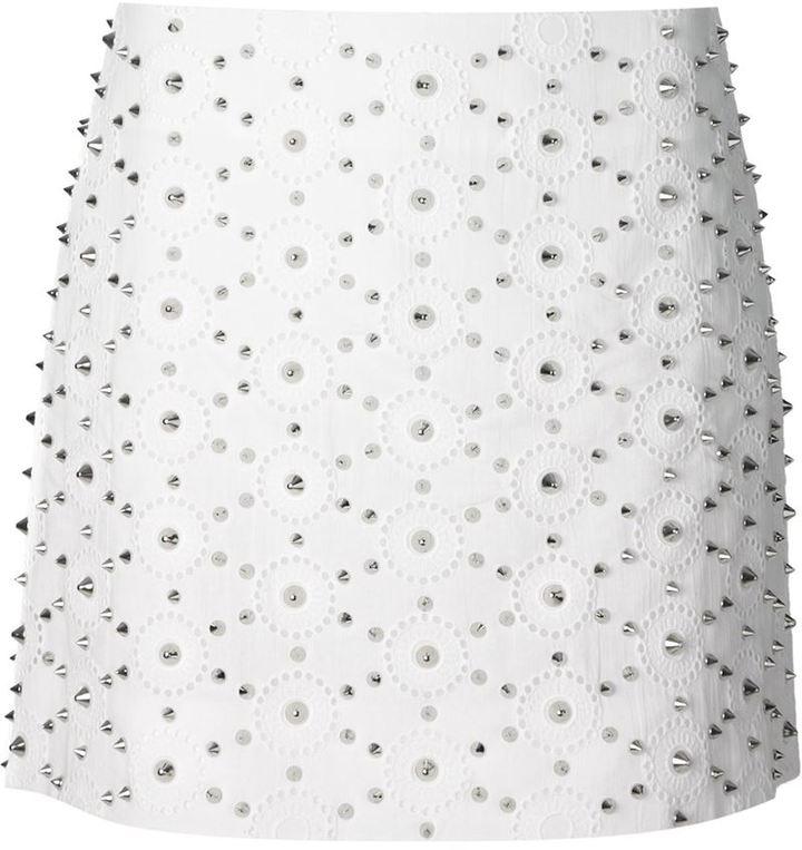 Viktor & Rolf spiked mini skirt