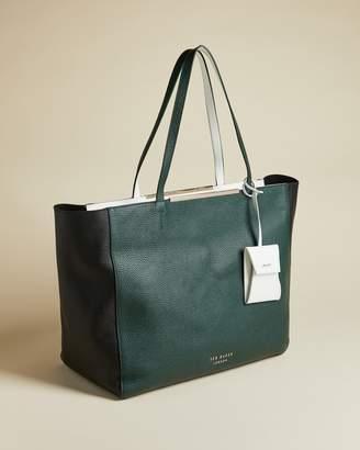 Ted Baker DARCIAA Bar detail oversized shopper bag