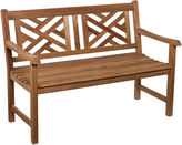 Asstd National Brand Teak Chippendale Outdoor Bench