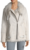 IRO Barrett Leather Asymmetrical Jacket