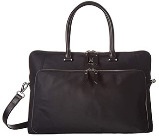 Travelpro Platinum Elite Brief (Shadow Black) Briefcase Bags