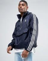 Adidas Originals London Pack Modern Windbreaker In Blue Bk7882