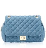 Marc B Knightsbridge Denim Quilted Handbag