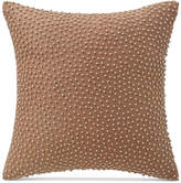 "Waterford Margot Persimmon 14"" Square Decorative Pillow"