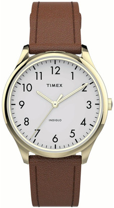 Timex TW2T72300 Easy Reader Tan
