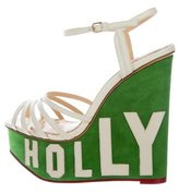Charlotte Olympia Hollywood Platform Wedges