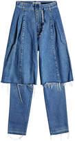 Ksenia Schnaider Distressed Jeans