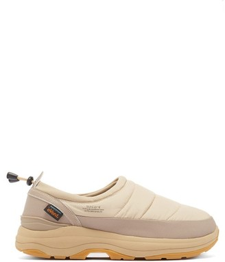Suicoke Pepper Padded Slip-on Trainers - Beige