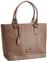 Osprey London Women's Trader Polished Croc Top-Handle Bag 0704-50