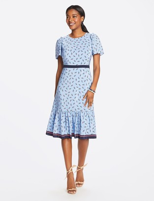 Draper James Collection Border Print Midi Dress