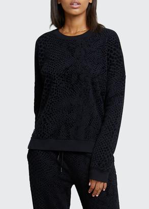 Rails Marlo Long-Sleeve Side Zip Sweatshirt
