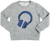 Paul Smith Headphones Embroidered Cotton Sweatshirt