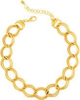 Jose & Maria Barrera Chain-Link Collar Necklace
