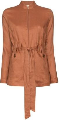 Usisi Alma belted jacket