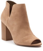 Apt. 9 Upgraded Women's Side Slit Ankle Boots