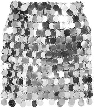 Paco Rabanne Chainmail Mini Skirt