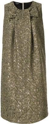 Rochas jacquard print dress