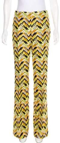 Giambattista Valli High-Rise Wool-Blend Pants