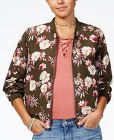 Hippie Rose Juniors' Reversible Bomber Jacket