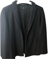 Marc Cain Black Wool Coat for Women
